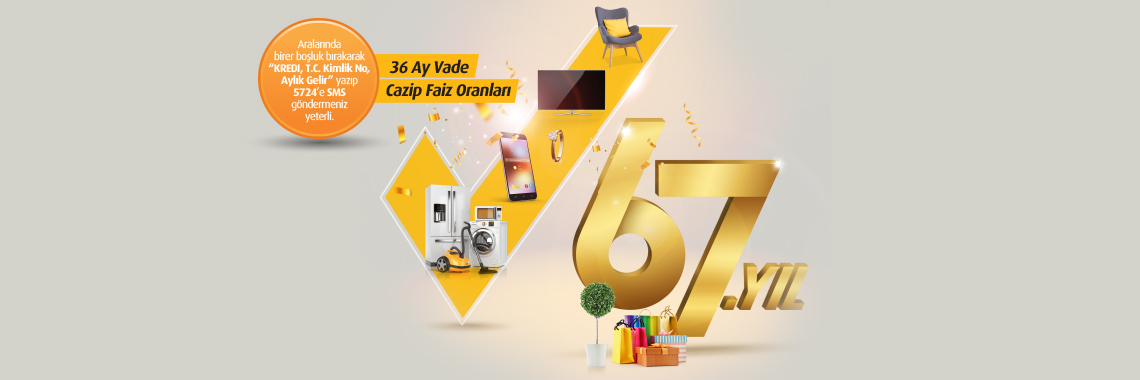VakıfBank 67. Kuruluş Yıldönümü Kredi Kampanyası