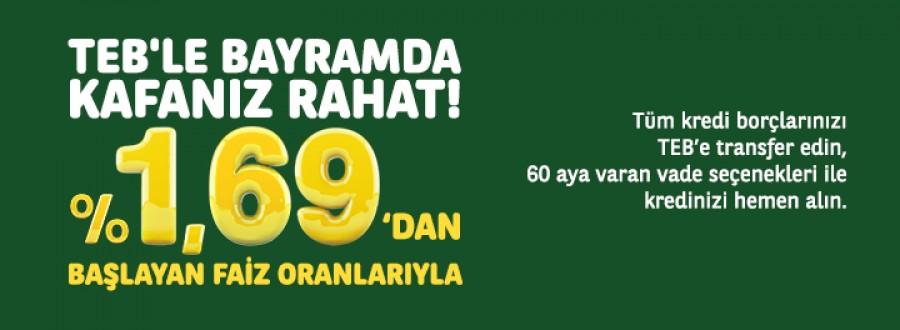Türkiye Ekonomi Bankası (TEB) Borç Transferi Kampanyası!