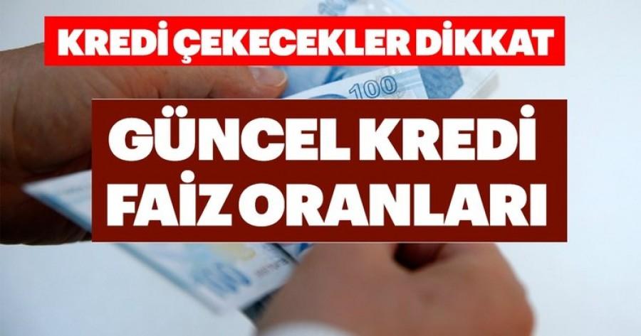 24 Mayıs Tüketici, Ev, Araba Kredileri Faiz Oranları. İşbankası, Halkbank, Vakıfbank, Ziraat Bankası Kredileri Burada