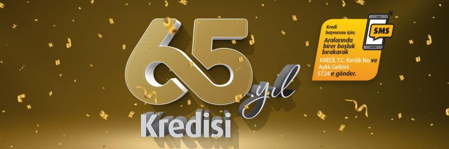 Vakıfbank 65. Kuruluş Yıl Dönümü Kredisi Kampanyası