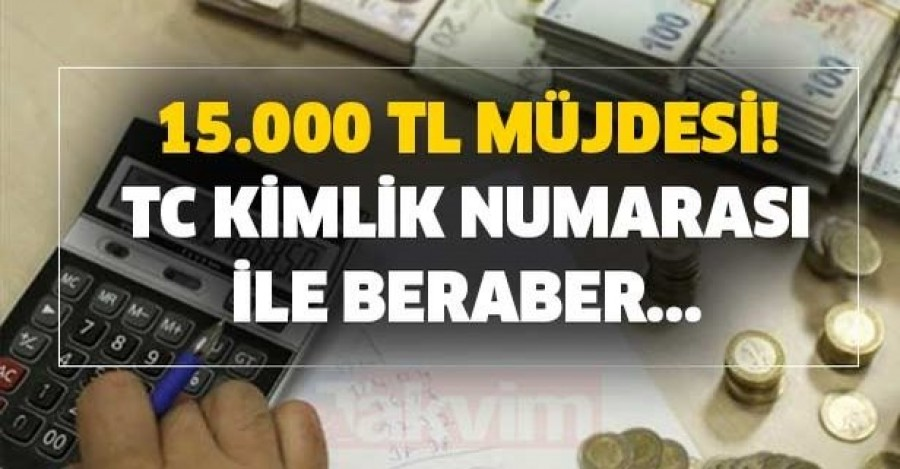 Nakit ihtiyacı olanlara QNB Finansbank'tan Müjde! 60 ay vadeli 15.000 TL Kredi.
