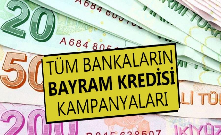 Güncel Bayram Kredisi Faiz Oranları! 28 Mayıs En Uygun Ramazan Bayramı Kredisi Veren Bankalar Hangileri?