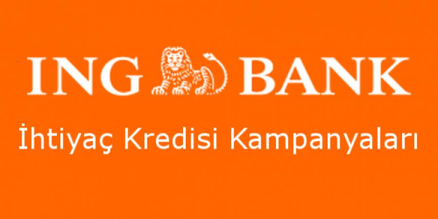 ING Banktan 5 Dakikada Kredi Onayı