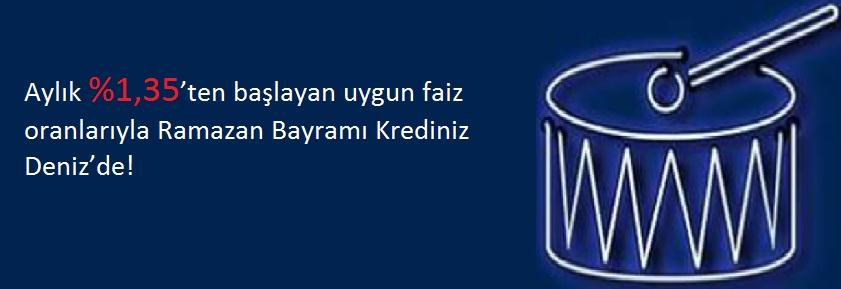 Denizbank Bayram Kredisi